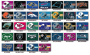 3x5' nylon NFL flags
