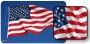 5X9 1/2' Cotton US Burial Flag With Header & Grommets
