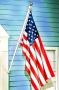 Never Tangle Home Flag Kit w/US flag